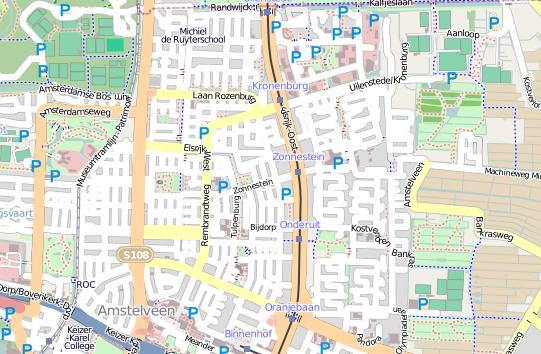 OpenStreetMap Tiles for Dutch Projection EPSG:28992 – Just